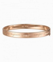Inspiration bangle in rose gold
