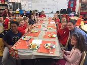 Celebration Feast in Mrs. Zwak's class