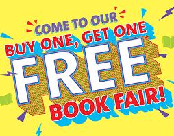 Buy One, Get One/BOGO FREE Book Fair Week