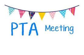 PTA General Meeting on November 6th- 6:30-7:30