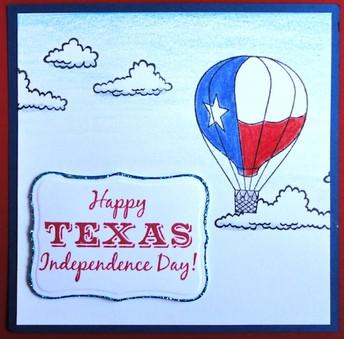 Friday - Celebrate Texas Day!