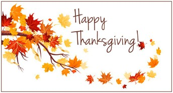 HAPPY THANKSGIVING WISHES TO EVERYONE!