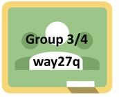 Google Classroom Group 3/4