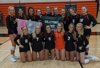 Valley Volleyball in State Tournament
