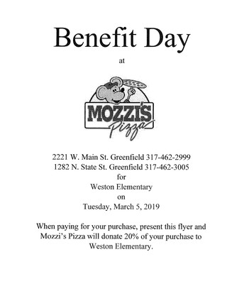 Mozzi's Pizza Night