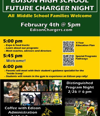 Distinguished Program Night 2/26