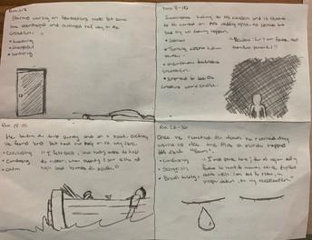 4 Square Notes (Frankenstein)
