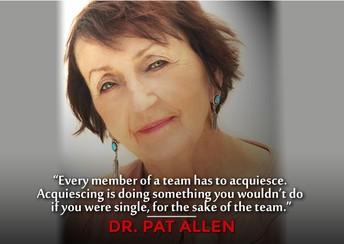 Dr Pat Allen