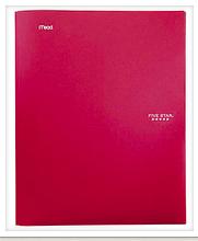 Red Take Home Folders