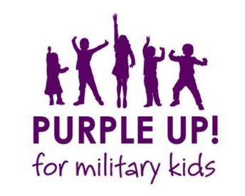 """""""Purple Up! For Military Kids"""" Day! - April 23, 2021"""