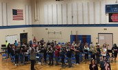 Eighth Grade Band Performs