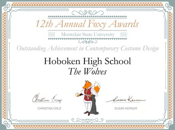 Foxy Award for Contemporary Costume Design