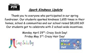 Spark Kindness... School-Wide Awards!