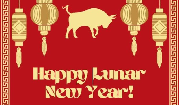 Wishing you good health and prosperous year of the ox