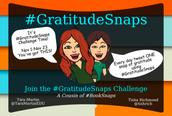Gratitude Snaps Challenge (Nov 1-23)