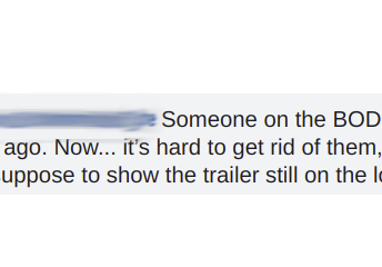 They are suppose to show the trailer