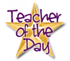 Teacher for the Day - Friday, February 22nd