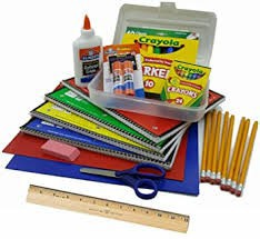 Extra School Supplies Available for Purchase