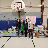 Celebrate FFLC  Food Drive Success