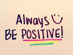 SHARE THE POSITIVE THINGS THAT ARE HAPPENING!