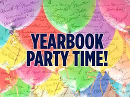 Yearbook Signing Party...