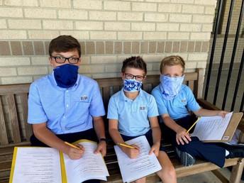 2nd Grade & 8th Grade Buddies