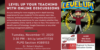 Level Up Your Teaching with Online Discussion
