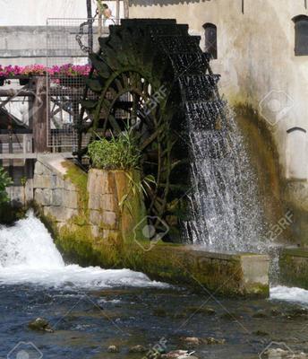 Mulino ad acqua ad Olzai