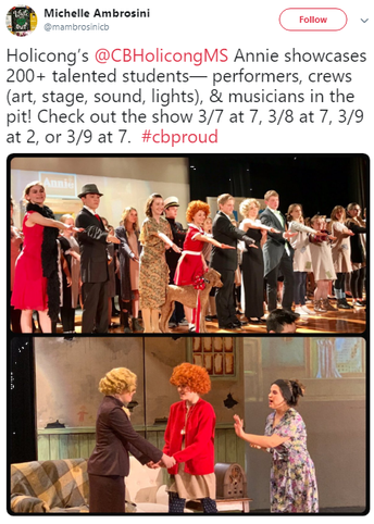 And speaking of amazing school musicals... Holicong Players Present Annie, Jr. this Weekend!