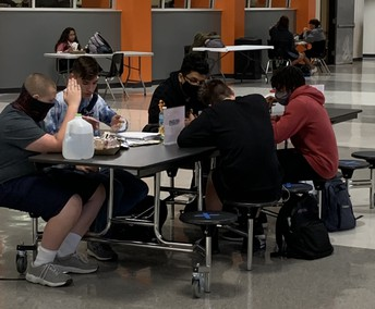 Peer Tutors are available every day at Lunch!
