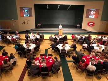Distinguished Alumni and Educators honored at alumni luncheon