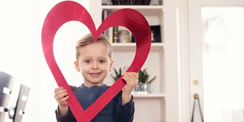 14 Ways to Show Your Child Love: Valentine's Day and Every Day