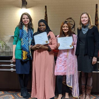 Two Mather winners at Secondary Writing Contest sponsored by Illinois TESOL-BE