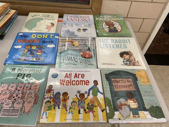 for the generous donation to add books to our classroom libraries!