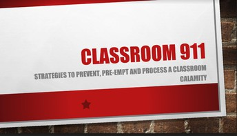 Classroom 911 Presentation by Gwynn Wills