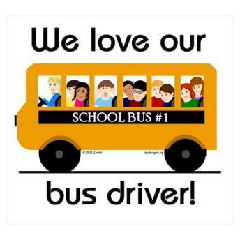 Beep, Beep!! Oct 22-26 is Bus Driver Appreciation Week
