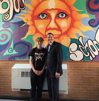 Student Spotlight: Angelo Atencio