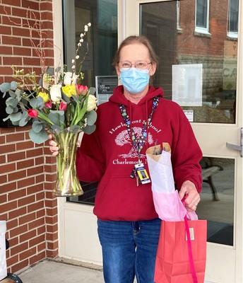 Hawlemont Regional School Nurse Sherry Hagar