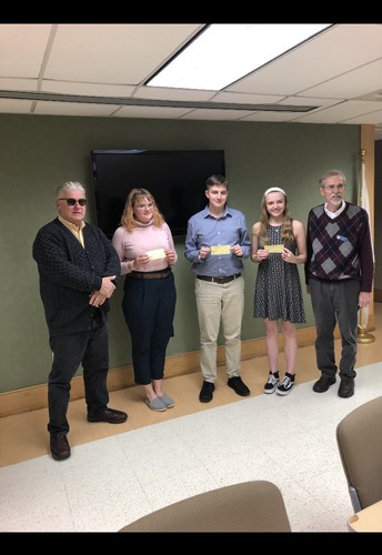Annual Lions Club Speech Contest Winners