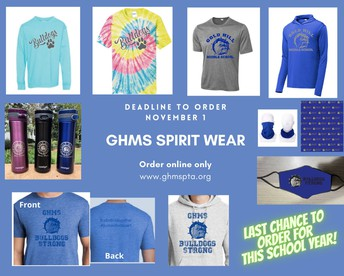 GHMS PTA - New Spirit Wear