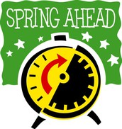 FALL BACK SPRING FORWARD