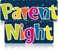 Optional Parent Nights are next week!