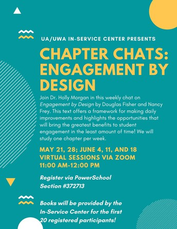"""Chapter Chats: Weekly Discussion of Fisher and Frey's """"Engagement by Design"""""""