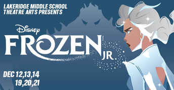 Frozen musical flyer