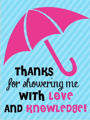 Ideas to shower our staff and teachers with gratitude!