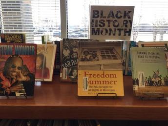 Black History Month Display