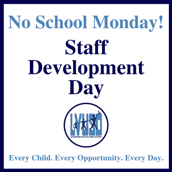 Reminder: No School on Monday January 28th
