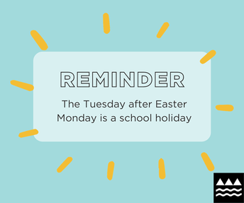 Easter Tuesday Holiday