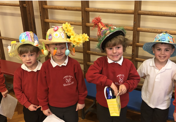Our wonderful Easter Bonnets