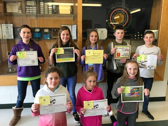 5th Grade Eagle Awards for Academics and Character